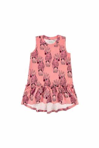 DEAR SOPHIE - PARROT PINK DRESS