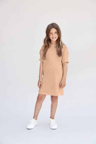 I DIG DENIM - RICKY OVERSIZED DRESS ORGANIC PINK SAND
