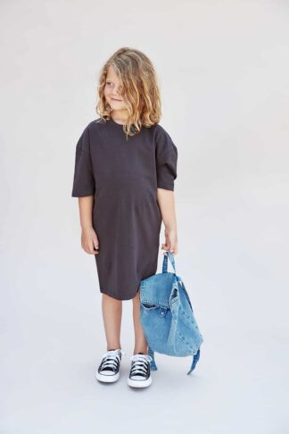 I DIG DENIM - RICKY OVERSIZED DRESS ORGANIC BLACK