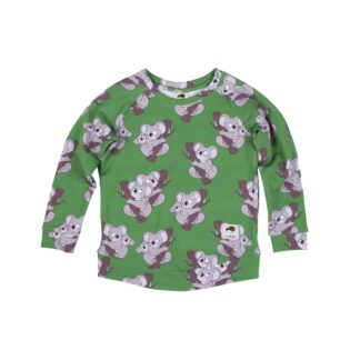 MULLIDO - GREEN KOALA SWEATSHIRT
