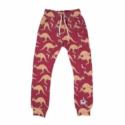 MULLIDO - RED KANGAROO PANTS