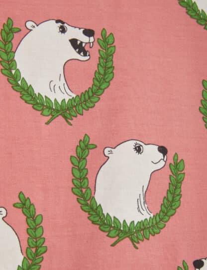 MINI RODINI - POLAR BEAR LONG SLEEVE T-SHIRT PINK