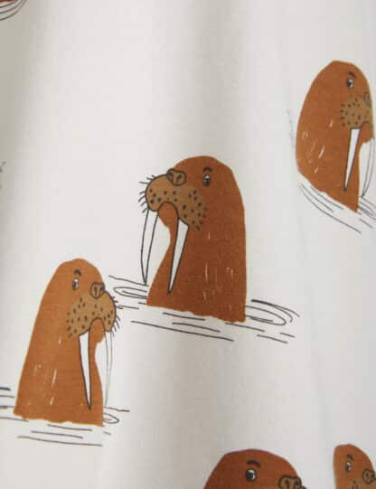 MINI RODINI - WALRUS LEGGINGS GREY