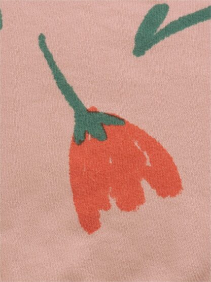 BOBO CHOSES - BIG FLOWERS ALL OVER SWEATSHIRT