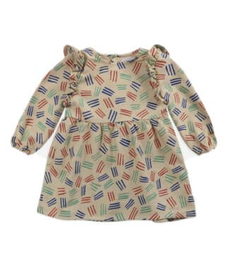 BOBO CHOSES - SCRATCH ALL OVER WOVEN DRESS