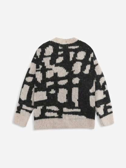 BOBO CHOSES - PAINTING KNITTED CARDIGAN