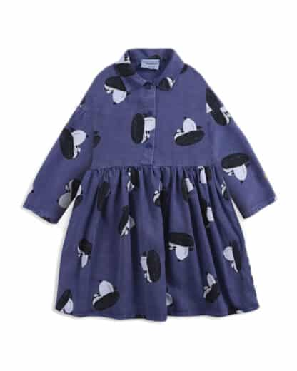 BOBO CHOSES - DOGGIE ALL OVER WOVEN BUTTONED DRESS