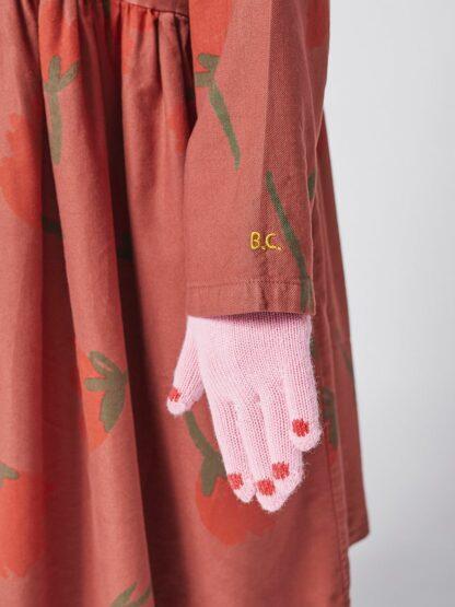 BOBO CHOSES - BIG FLOWERS WOVEN BUTTONED DRESS