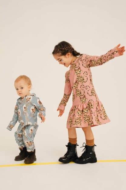 DEAR SOPHIE - GEPARD PINK DRESS