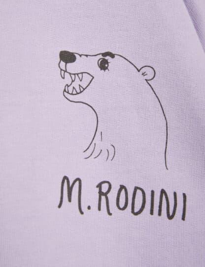 MINI RODINI - POLAR BEAR SWEATSHIRT PURPLE