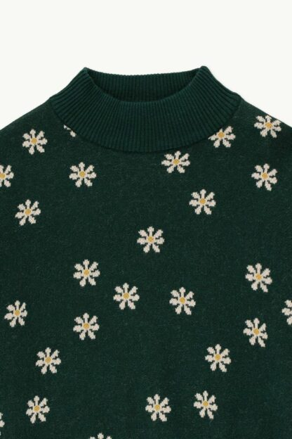 TINYCOTTONS - DAISIES MOCKNECK SWEATER