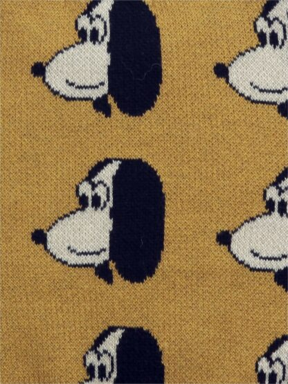 BOBO CHOSES - DOGGIE ALL OVER KNITTED JUMPER BABY