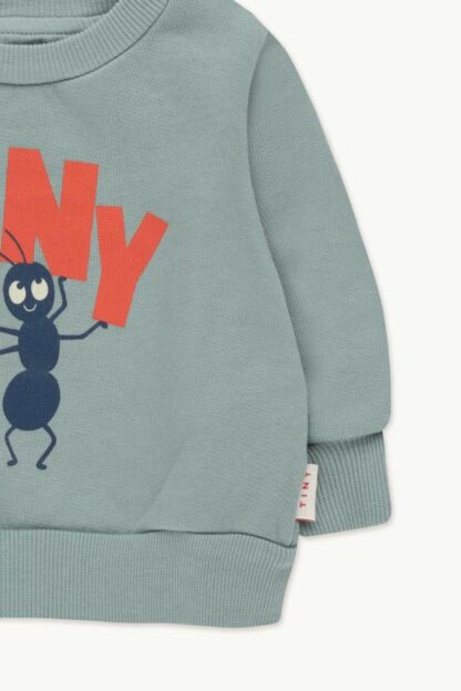 TINYCOTTONS - TINY FORTIS FORMICA BABY SWEATSHIRT