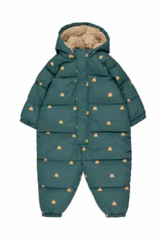 TINYCOTTONS - DOGS PADDED OVERALL KID