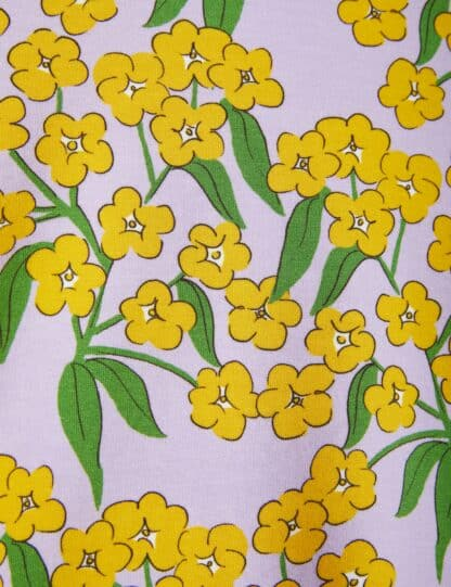 MINI RODINI - ALPINE FLOWERS T-SHIRT