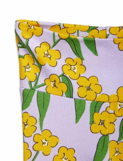 MINI RODINI - ALPINE FLOWERS NEWBORN LEGGINGS
