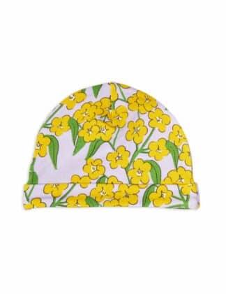 MINI RODINI - ALPINE FLOWERS BABY BEANIE