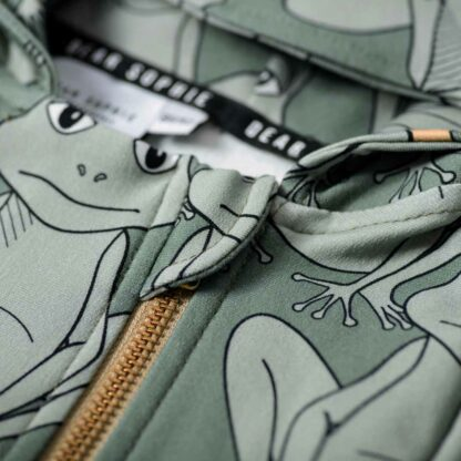 DEAR SOPHIE - FROG GREEN OVERALL