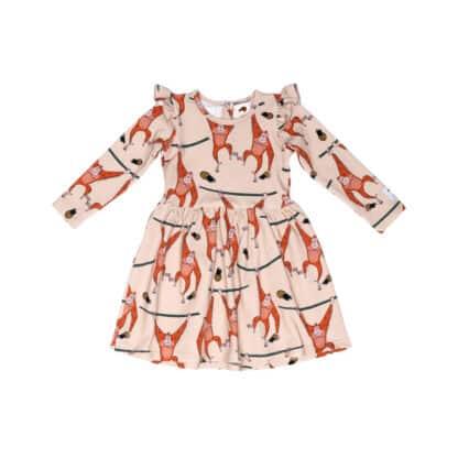 MULLIDO - BEIGE ORANGUTAN DRESS
