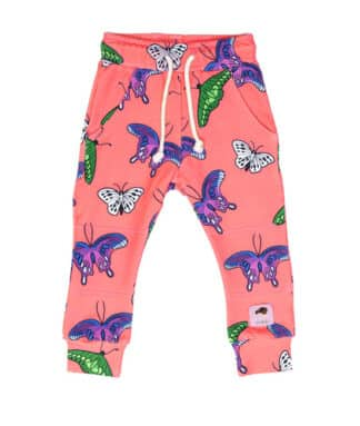 MULLIDO - CORAL BUTTERFLIES TROUSERS